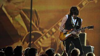 El legendario guitarrista Jeff Beck. / AFP Photo