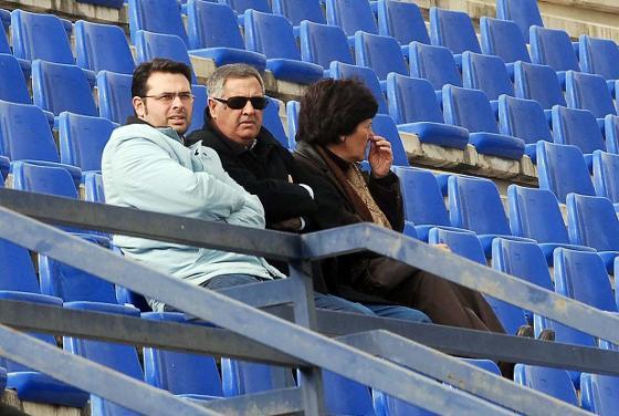 Nico Sosa volvió a La Juventud para ver a su ex equipo.   Foto: Manuel Aranda