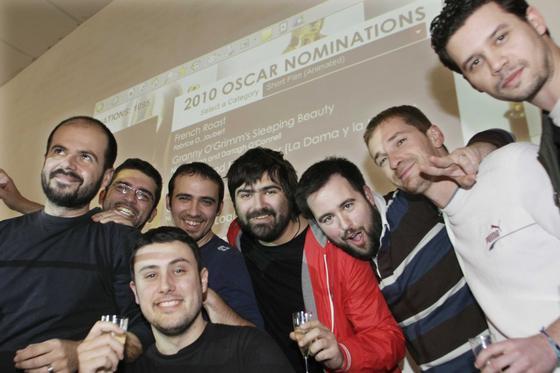 """Kandor Graphics es seleccionada para las nominaciones a los Oscar por su corto """" La Dama y la Muerte"""". Foto: Miguel Rodríguez.  Foto: Miguel Rodriguez"""