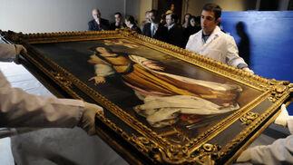 Recepción de 'Santa Catalina de Alejandría Mártir', obra de Bartolomé Esteban Murillo.  Foto: JuanJuan Carlos Váquez