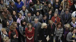 Asistentes al Foro Europeo de Mujeres Beijing+15  Foto: Joaquin Hernandez 'Kiki'