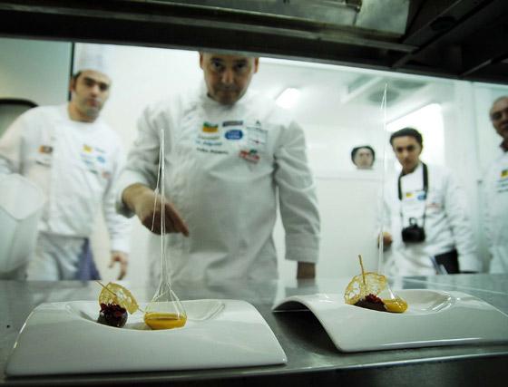 Platos listos para su degustación  Foto: Manuel Aranda
