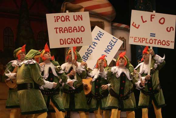 Chirigota 'Los parapapá'  Foto: Jesus Marin / Lourdes de Vicente