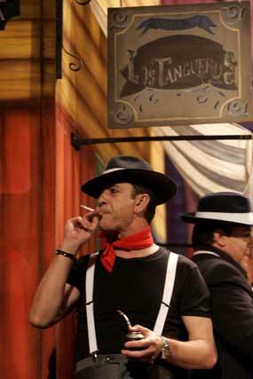 Coro 'Los tangueros'  Foto: Jesus Marin / Lourdes de Vicente