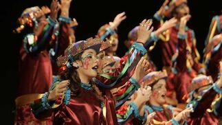 2º premio de coro 'Menuda tierra'  Foto: Jesus Marin