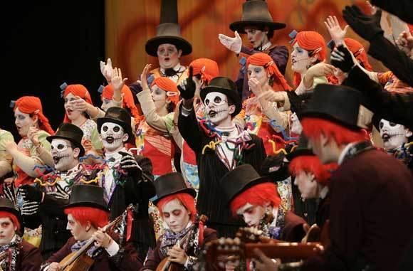 1º premio de coro 'Pesadilla antes de Carnaval'  Foto: Jesus Marin