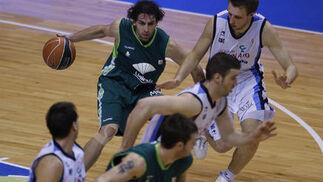 El Unicaja logra una victoria holgada (97-72) y se reconcilia con su afición. / Sergio Camacho