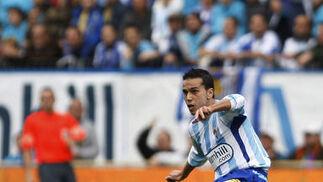 Los blanquiazules no pasaron del empate contra diez. / Reportaje gráfico: Sergio Camacho