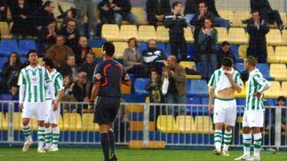 Los blanquiverdes fueron inferiores durante todo el partido. / Reportaje gráfico: Jorge Traver, LOF