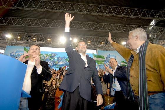 Simpatizantes y líderes del partido se congregaron en el multitudinario evento. /J. Ochando