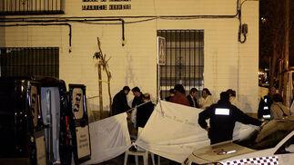 Seis personas han resultado fallecidas por un incendio.  Foto: Antonio Pizarro / EFE