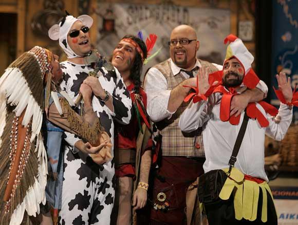 Cuarteto 'Los vaqueros de Springfield'  Foto: Jesus Marin