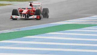 Ferrari de Fernando Alonso  Foto: Juan Carlos Toro