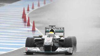 Mercedes de Nico Rosberg  Foto: Juan Carlos Toro