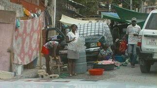 La vida sigue en Haití.
