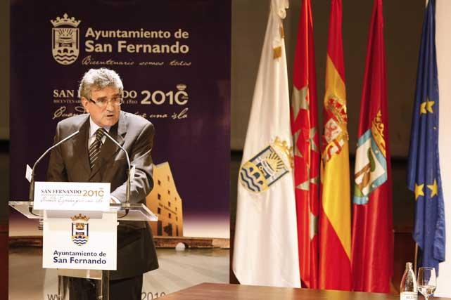 Luis Pizarro, consejero de Gobernación de la Junta y presidente del Consorcio del Bicentenario  Foto: Jose Ramon Ladra