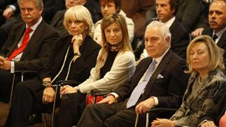 Teófila Martínez, en la imagen junto a Bibiana Aido, que también acudió  Foto: Jose Ramon Ladra