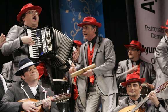 Coro 'Los tangueros'  Foto: Lourdes de Vicente
