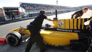 Monoplaza de Renault  Foto: Juan Carlos Toro