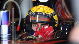 Piloto de Red Bull  Foto: Juan Carlos Toro