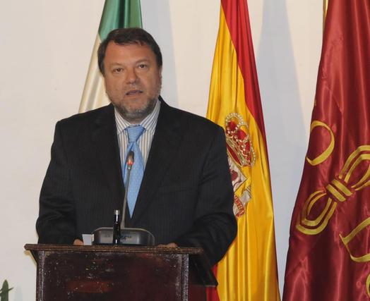 Alfredo Sánchez Monteseirín, alcalde de Sevilla.  Foto: Juan Carlos Vázquez
