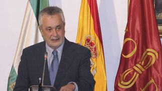 José Antonio Griñán, presidente de la Junta de Andalucía.  Foto: Juan Carlos Vázquez