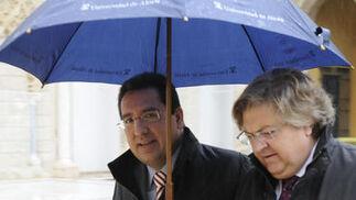 Antonio Pulido, presidente de Cajasol.  Foto: Juan Carlos Vázquez