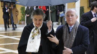 Juan Antonio Carrillo Salcedo y su esposa.  Foto: Juan Carlos Vázquez