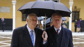 Manuel Olivencia y el Conde de Peñaflor.  Foto: Juan Carlos Vázquez
