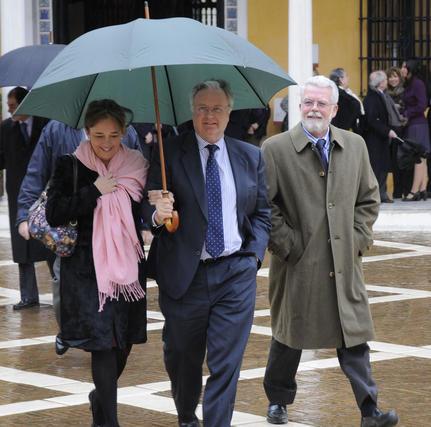 Ricardo Serra, presidente de Asaja Andalucía, a la derecha.  Foto: Juan Carlos Vázquez