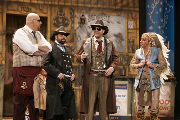 Cuarteto de Morera, 'Los vaqueros de Springfield'  Foto: Jesus Marin/Lourdes de Vicente