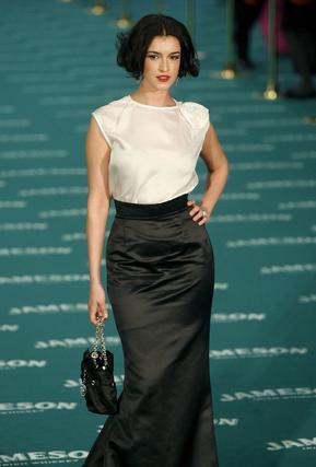 La actriz Blanca Romero, nominada por 'After'. / EFE · AFP Photo · Reuters