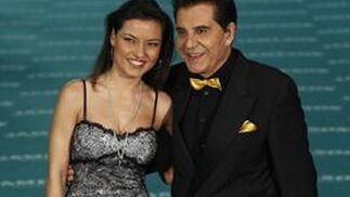 Mari Cielo Pajares y su padre, Andrés Pajares. / EFE · AFP Photo · Reuters
