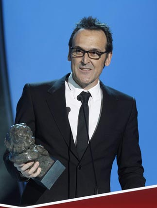 El compositor Alberto Iglesias, premio a la mejor música original. / REUTERS