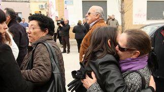 Entierro del cantaor jerezano al que acudieron muchos artistas del mundo del flamenco.  Foto: Juan Carlos Toro