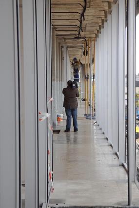 La nueva biblioteca de Torneo será pública y dará servicio a 100.000 ciudadanos.  Foto: Jaime Martínez