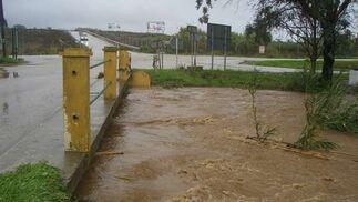 Estepona fue una de las ciudades más afectadas por las intensas lluvias.  Foto: Agencias