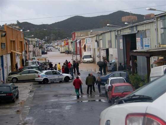 Fuengirola registró más de 70 litros por metro cuadrado.   Foto: Agencias