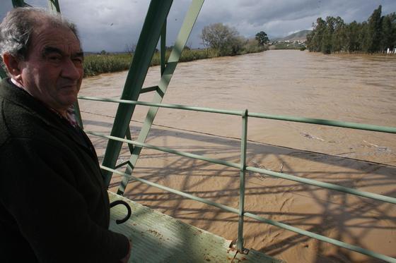 El río Guadalhorce a su paso por la estación de Cártama.  Foto: Migue Fernández, Sergio Camacho, Agencias