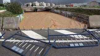 Las lluvias hacen estragos en la provincia de Málaga.  Foto: Migue Fernández, Sergio Camacho, Agencias