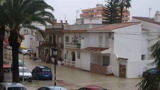 Manilva fue el municipio más afectado.  Foto: Agencias