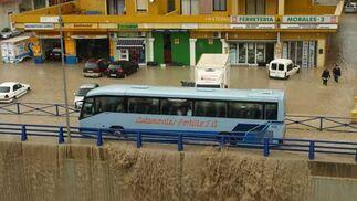 El barrio de Sabinillas fue uno de los más afectados en Manilva.   Foto: Agencias