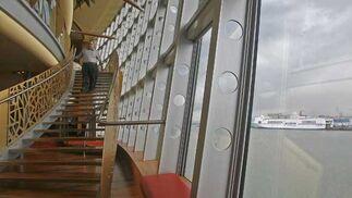El 'Aidablu' es el primero de los 300 buques de este tipo que atracarán este año en el Puerto de Cádiz  Foto: Joaquin Pino