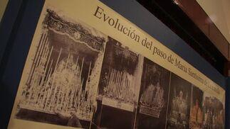 Evolución del paso de palio de María Santísima de la Estrella.  Foto: Bel?Vargas