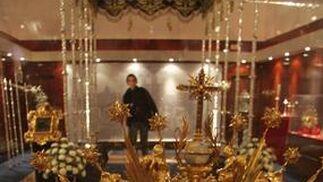 Presea de la coronación.  Foto: Bel?Vargas