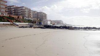 Estado de la playa de Matalascañas.  Foto: Begoña Mora