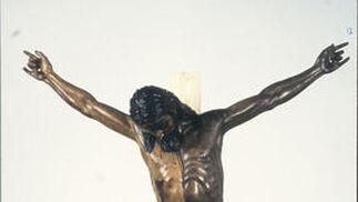 Cristo de Burgos (limpieza).  Foto: IAPH/Eugenio Fernández