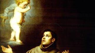 'Visión de San Antonio de Padua'. Óleo sobre lienzo. 209,8x144 cm. Birmingham Museums & Art Gallery. Donación sustitutoria de impuestos, 1974.
