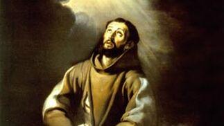'San Francisco de Asís orando'. Óleo sobre lienzo. 182x129 cm. Catedral de Nuestra Señora, Amberes.