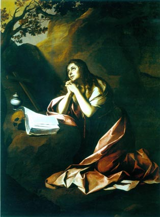 'Magdalena penitente'. Óleo sobre lienzo. 196x144 cm. The Matthiesen Gallery, Londres.